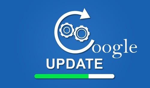Mise à jour algorithme de ranking Google