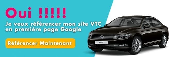campagnes google ADS VTC
