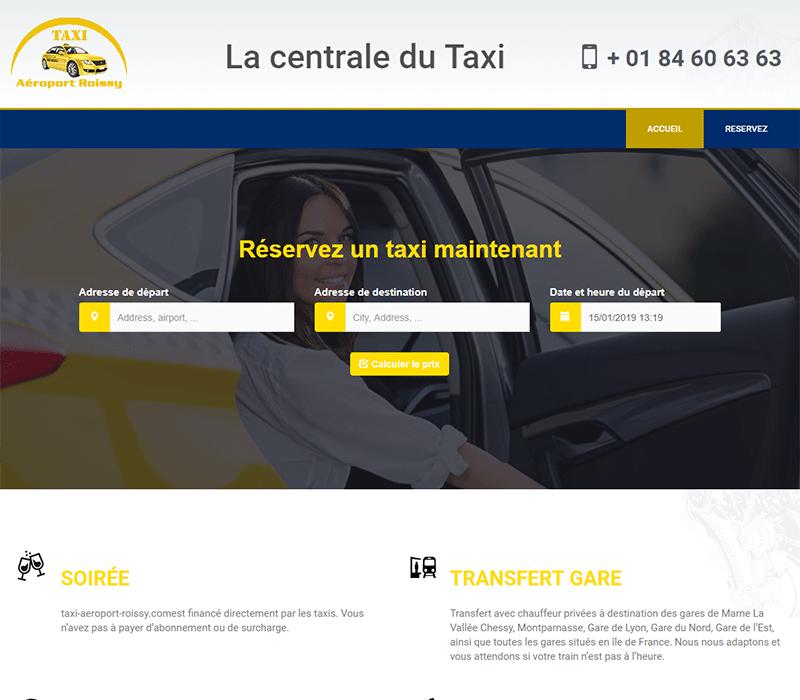 Taxi en ligneTaxi Aéroport Roissy