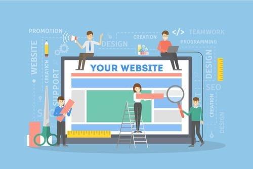 creer site web professionnel les regles